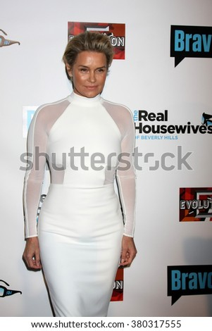 LOS ANGELES - DEC 3:  Yolanda Foster at The Real Housewives of Beverly Hills Premiere Red Carpet 2015 at the W Hotel Hollywood on December 3, 2015 in Los Angeles, CA - stock photo