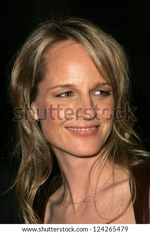"LOS ANGELES - DECEMBER 09: Helen Hunt at the premiere of the FX original drama series ""Dirt"" at Paramount Theater December 09, 2006 in Los Angeles, CA."