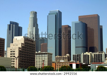 Los Angeles, Downtown - stock photo