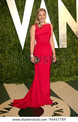 LOS ANGELES - FEB 26:  Abbie Cornish arrives at the 2012 Vanity Fair Oscar Party  at the Sunset Tower on February 26, 2012 in West Hollywood, CA