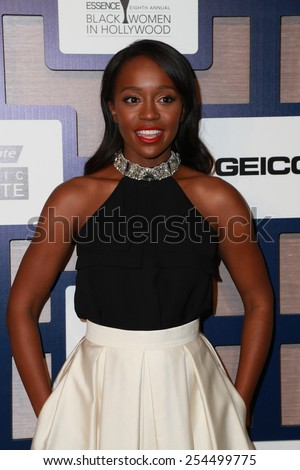 LOS ANGELES - FEB 19:  Aja Naomi King at the 8th Annual ESSENCE Black Women In Hollywood Luncheon at a Beverly Wilshire Hotel on February 19, 2015 in Beverly Hills, CA