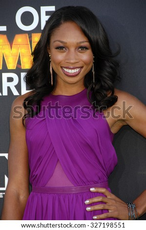 LOS ANGELES - FEB 9 - Allyson Felix arrives at the 13rd Annual Cartoon Network Hall Of Game Awards on February 9, 2013 in Los Angeles, CA