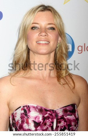 LOS ANGELES - FEB 22:  Amy Smart at the Night of 100 Stars Oscar Viewing Party at the Beverly Hilton Hotel on February 22, 2015 in Beverly Hills, CA - stock photo