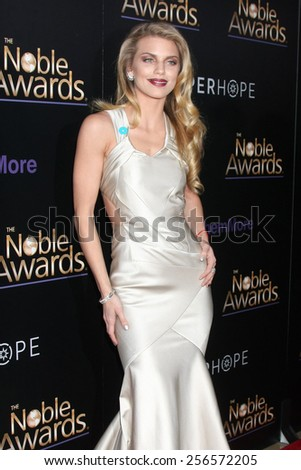 LOS ANGELES - FEB 27:  AnnaLynne McCord at the Noble Awards at the Beverly Hilton Hotel on February 27, 2015 in Beverly Hills, CA