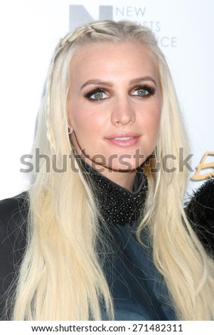 "LOS ANGELES - FEB 20:  Ashlee Simpson at the ""Just Before I Go"" Premiere at the ArcLight Hollywood Theaters on April 20, 2015 in Los Angeles, CA - stock photo"