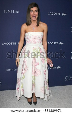 LOS ANGELES - FEB 23:  Betsy Brandt at the 18th Costume Designers Guild Awards at the Beverly Hilton Hotel on February 23, 2016 in Beverly Hills, CA - stock photo