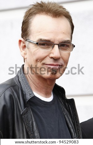 LOS ANGELES - FEB 6: Billy Bob Thornton at a ceremony where rock band 'America' in honored with a star on the Hollywood Walk of Fame in Los Angeles, California. Feb 6, 2012