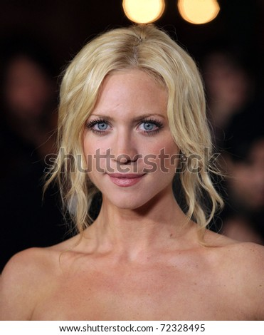 """LOS ANGELES - FEB 24:  Brittany Snow arrives to the """"Beastly"""" Los Angeles Premiere  on February 24, 2011 in Hollywood, CA - stock photo"""