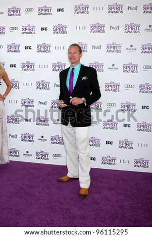 LOS ANGELES - FEB 25:  Carson Kressley arrives at the 2012 Film Independent Spirit Awards at the Beach on February 25, 2012 in Santa Monica, CA - stock photo
