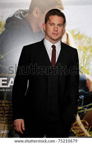 LOS ANGELES - FEB 1: Channing Tatum at the Dear John  Premiere at Grauman`s Chinese Theater,  in Los Angeles, California on February 1, 2011.