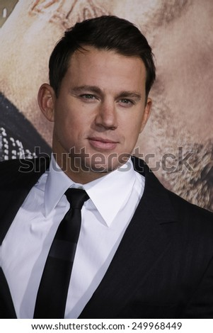 LOS ANGELES - FEB 2: Channing Tatum at the 'Jupiter Ascending' Los Angeles Premiere at TCL Chinese Theater on February 2, 2015 in Hollywood, Los Angeles, California - stock photo