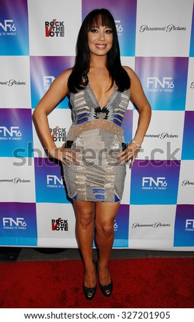 LOS ANGELES - FEB 8 - Cheryl Burke arrives at the 16th Annual Friends N Family Pre Grammy Party on February 8, 2013 in Los Angeles, CA              - stock photo