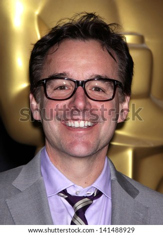 LOS ANGELES - FEB 6:  CHRIS COLUMBUS arrives to the 2012 Academy Awards Nominee Luncheon  on Feb 6, 2012 in Beverly Hills, CA - stock photo