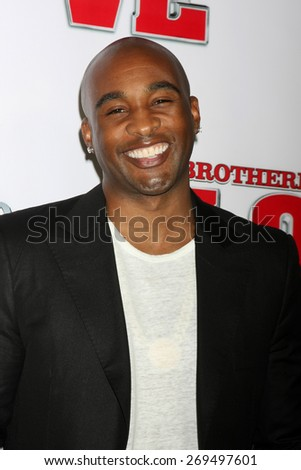 """LOS ANGELES - FEB 13:  Datari Turner at the """"Brotherly Love"""" LA Premiere at the Silver Screen Theater at the Pacific Design Center on April 13, 2015 in West Hollywood, CA - stock photo"""