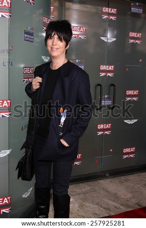 LOS ANGELES - FEB 20:  Diane Warren at the GREAT British Film Reception Honoring The British Nominees Of The 87th Annual Academy Awards at a London Hotel on February 20, 2015 in West Hollywood, CA - stock photo