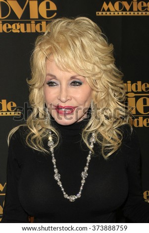 LOS ANGELES - FEB 5: Dolly Parton at the 24th Annual MovieGuide Awards at Universal Hilton Hotel on February 5, 2016 in Universal City, Los Angeles, California - stock photo