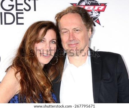 "LOS ANGELES - FEB 6:  Donna Isham, Mark Isham at the ""The Longest Ride"" Los Angeles Premiere at the TCL Chinese Theater on FEB 6, 2015 in Los Angeles, CA - stock photo"