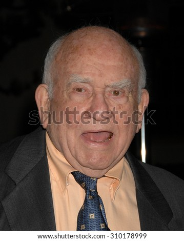 LOS ANGELES - FEB 15:  Ed Asner arrives at the 2014 MakeUp Artists and Hair Stylists Guild Awards  on February 15, 2014 in Hollywood, CA