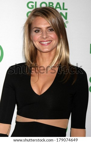 LOS ANGELES - FEB 26:  Eliza Coupe at the Global Green USA Pre-Oscar Event at Avalon Hollywood on February 26, 2014 in Los Angeles, CA