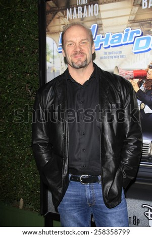 LOS ANGELES - FEB 10: Eric Allan Kramer at the screening of the Disney Channel Original Movie 'Bad Hair Day' at the Frank G Wells Theater on February 10, 2015 in Burbank, CA - stock photo