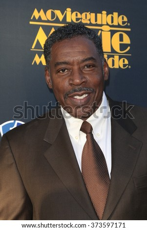 LOS ANGELES - FEB 5:  Ernie Hudson at the 24th Annual MovieGuide Awards at the Universal Hilton Hotel on February 5, 2016 in Los Angeles, CA - stock photo