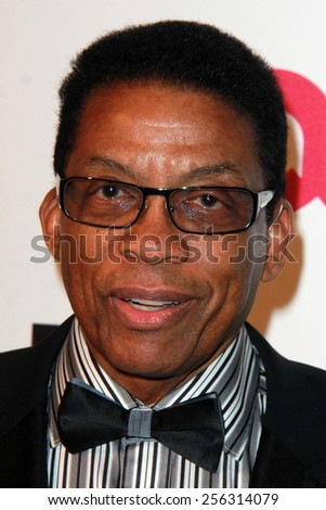 LOS ANGELES - FEB 22:  Herbie Hancock at the Elton John Oscar Party 2015 at the City Of West Hollywood Park on February 22, 2015 in West Hollywood, CA - stock photo
