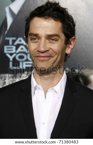 "LOS ANGELES - FEB 16:  James Frain arrives at the ""Unknown"" Premiere at the Village Theater on February 16, 2011 in Los Angeles, CA"