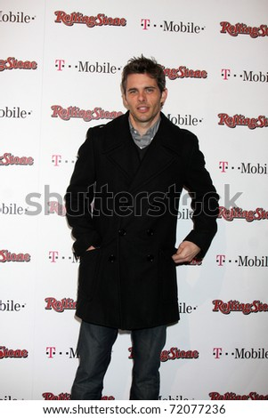 LOS ANGELES - FEB 26:  James Marsden arrives at the Rolling Stone Pre-Oscar Bash 2011 at W Hotel on February 26, 2011 in Hollywood, CA - stock photo