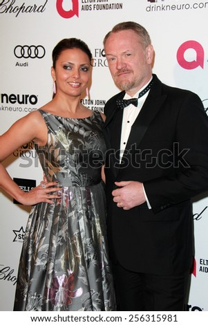 LOS ANGELES - FEB 22:  Jared Harris at the Elton John Oscar Party 2015 at the City Of West Hollywood Park on February 22, 2015 in West Hollywood, CA - stock photo