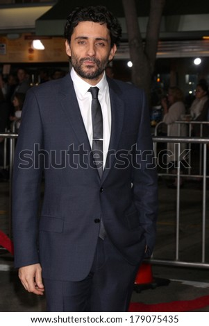 "LOS ANGELES - FEB 24:  Jaume Collet-Serra at the ""Non-Stop"" Premiere at Village Theater on February 24, 2014 in Westwood, CA"