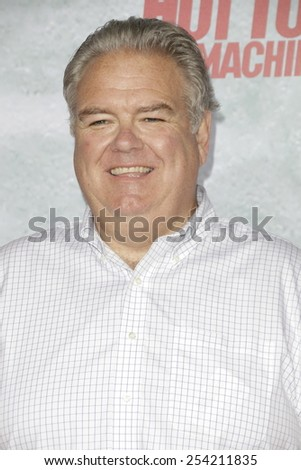 LOS ANGELES - FEB 18: Jim O'Heir at the 'Hot Tub Time Machine 2' premiere on February 18, 2014 in Los Angeles, California - stock photo