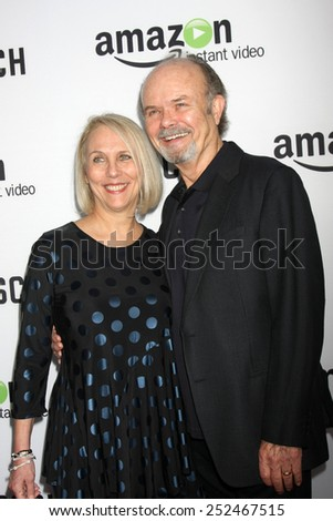 "LOS ANGELES - FEB 3:  Joan Smith, Kurtwood Smith at the ""Bosch"" Amazon Red Carpet Premiere Screening at a ArcLight Hollywood Theaters on February 3, 2015 in Los Angeles, CA - stock photo"