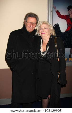 "LOS ANGELES - FEB 17:  Joe Bologna, Renee Taylor arrives at the Opening of ""Ethel Merman's Broadway"" at El Portal Theater on February 17, 2011 in No. Hollywood, CA"