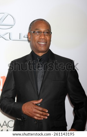 LOS ANGELES - FEB 6:  Joe Morton at the 46th NAACP Image Awards Arrivals at a Pasadena Convention Center on February 6, 2015 in Pasadena, CA - stock photo