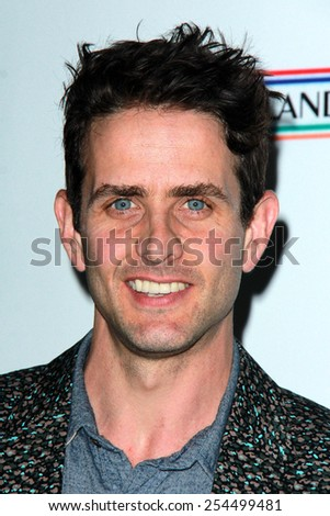LOS ANGELES - FEB 19:  Joey McIntyre at the Oscar Wilde US-Ireland Pre-Academy Awards Event at a Bad Robot on February 19, 2015 in Santa Monica, CA - stock photo