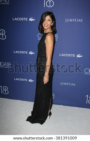LOS ANGELES - FEB 23:  Johanna Argan at the 18th Costume Designers Guild Awards at the Beverly Hilton Hotel on February 23, 2016 in Beverly Hills, CA - stock photo