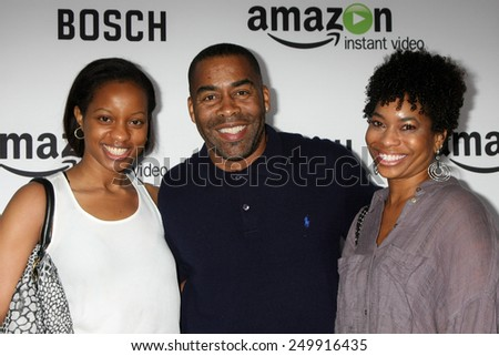 "LOS ANGELES - FEB 3:  John Eddins at the ""Bosch"" Amazon Red Carpet Premiere Screening at a ArcLight Hollywood Theaters on February 3, 2015 in Los Angeles, CA - stock photo"