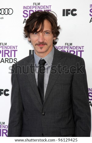 LOS ANGELES - FEB 25:  John Hawkes arrives at the 2012 Film Independent Spirit Awards at the Beach on February 25, 2012 in Santa Monica, CA