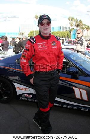 LOS ANGELES - FEB 7:  John Rzeznik at the Toyota Grand Prix of Long Beach Pro/Celebrity Race Press Day at the Grand Prix Compound on FEB 7, 2015 in Long Beach, CA - stock photo