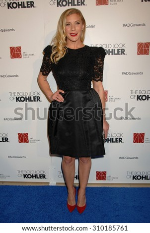 LOS ANGELES - FEB 8:  Katee Sackhoff arrives at the 18th Annual ADG Awards  on February 8, 2014 in Beverly Hills, CA