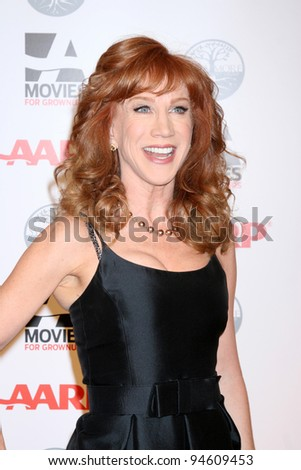 LOS ANGELES - FEB 6:  Kathy Griffin arrives at the AARP's 11th Annual Movies For Gownups Awards at Beverly Wilshire Hotel on February 6, 2012 in Beverly Hills, CA