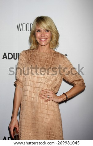 "LOS ANGELES - FEB 15:  Katie Aselton at the ""Adult Beginners"" Los Angeles Premiere at the ArcLight Hollywood Theaters on April 15, 2015 in Los Angeles, CA - stock photo"