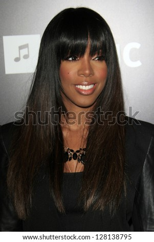 LOS ANGELES - FEB 9:  Kelly Rowland arrives at the ROC NATION Annual Pre-Grammy Brunch at the Soho House on February 9, 2013 in West Hollywood, CA - stock photo
