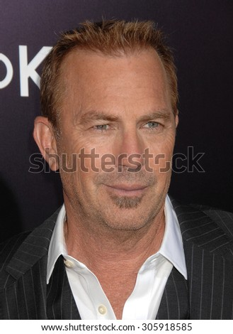 LOS ANGELES - FEB 12:  Kevin Costner  arrives to the 3 Days To Kill US Premiere  on February 12, 2014 in Hollywood, CA                 - stock photo