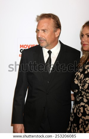 LOS ANGELES - FEB 2:  Kevin Costner at the AARP 14th Annual Movies For Grownups Awards Gala at a Beverly Wilshire Hotel on February 2, 2015 in Beverly Hills, CA - stock photo