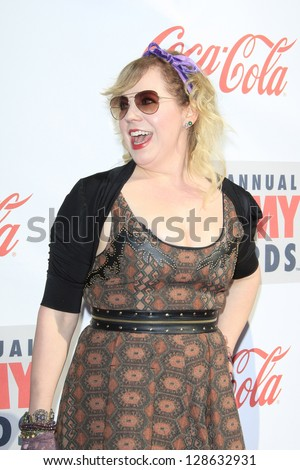 LOS ANGELES - FEB 17: Kirsten Vangsness at the 3rd Annual Streamy Awards at the Hollywood Palladium on February 17, 2013 in Los Angeles, California