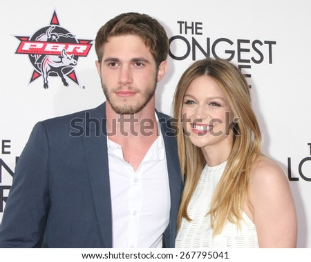 """LOS ANGELES - FEB 6:  Kyle Jenner, Melissa Benoist at the """"The Longest Ride"""" Los Angeles Premiere at the TCL Chinese Theater on FEB 6, 2015 in Los Angeles, CA - stock photo"""