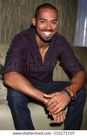 LOS ANGELES - FEB 27:  Lamon Archey at the Hot New Faces of the Young and the Restless press event at the CBS Television City on February 27, 2013 in Los Angeles, CA