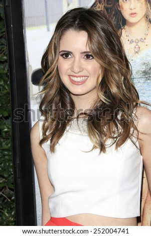 LOS ANGELES - FEB 10: Laura Marano at the screening of the Disney Channel Original Movie 'Bad Hair Day' at the Frank G Wells Theater on February 10, 2015 in Burbank, CA - stock photo