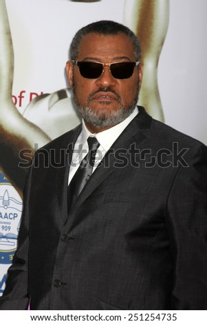 LOS ANGELES - FEB 6:  Laurence Fishburne at the 46th NAACP Image Awards Arrivals at a Pasadena Convention Center on February 6, 2015 in Pasadena, CA